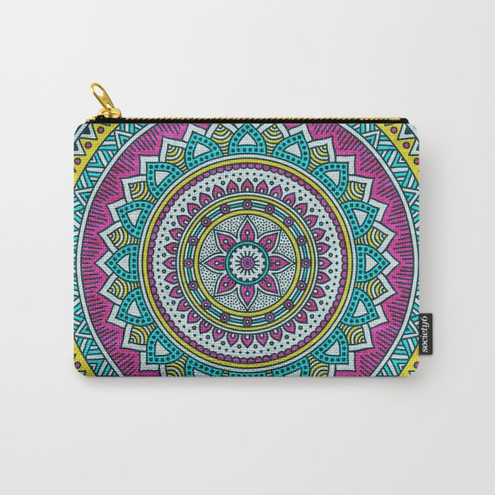 Hippie mandala 31 Carry-All Pouch