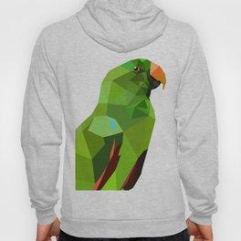 Eclectus parrot Geometric bird art Hoody
