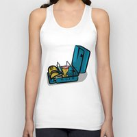 swedish Tank Tops featuring Retro Swedish Camp Stove by mailboxdisco