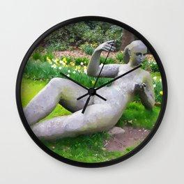 Art sculptures Wall Clock