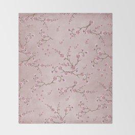SAKURA LOVE - BALLERINA BLUSH Throw Blanket