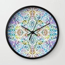 Mehndi Ethnic Style G356 Wall Clock