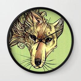 A Phantom in the Wilderness - The Thylacine Wall Clock