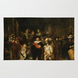 Rembrandt van Rijn - Nightwatch - Nachtwacht (1642) Rug