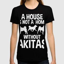 Akita Dog Father Dad Gift T-Shirt T-shirt