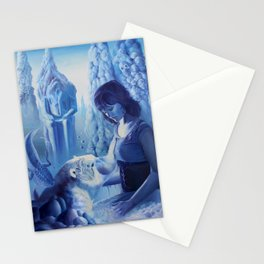 The Permafrost sonnets Stationery Cards