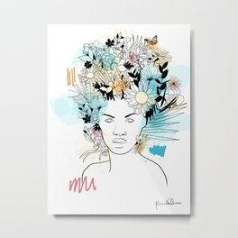 Primavera - Violeta Metal Print