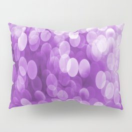 Bokeh Light Purple Tone #decor #society6 #buyart Pillow Sham