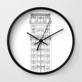 Don't Forget to Look Up by the Downtown Doodler Wall Clock