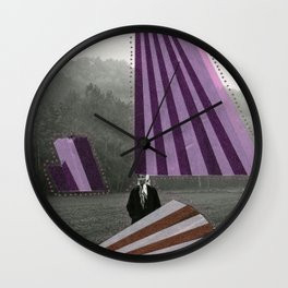Abduction Wall Clock