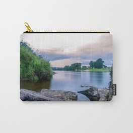 Long Exposure Photo of The River Tay in Perth Scotland Carry-All Pouch