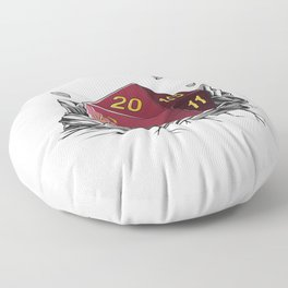 Critical Roll DM Tabletop Gaming Gift Dragons D20 Dice Set Print Floor Pillow