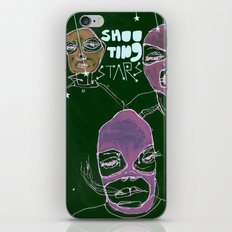 shooting stars an the rebels. iPhone & iPod Skin