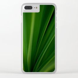 The Lushest Green of Life Clear iPhone Case