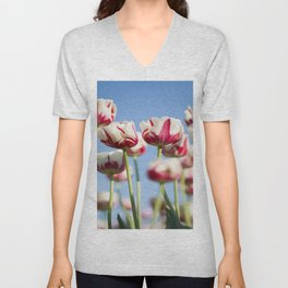 Tulips in Bloom Unisex V-Neck