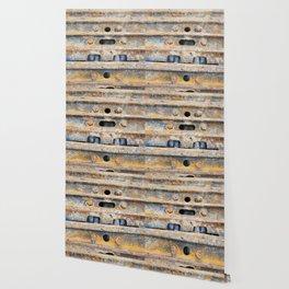 Rusty excavator caterpillar Wallpaper