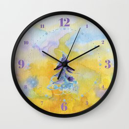 Joy Overflowing Wall Clock