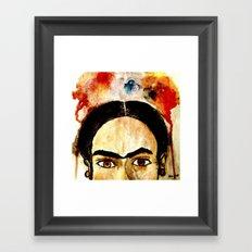 Sin Flores Framed Art Print