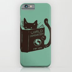 World Domination for Cats (Green) Slim Case iPhone 6