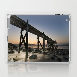 The old Peir at Holywood Laptop & iPad Skin