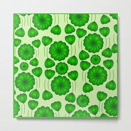 Floral greenery Metal Print