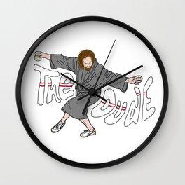 The Dude - The Big Lebowski Wall Clock