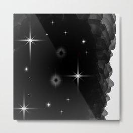 Starlight Starbright In The Night Galaxy Metal Print