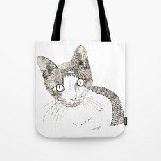 Humphrey the cat Tote Bag