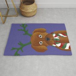 Christmas Pup Rug