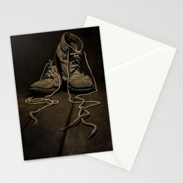 Old Brown Shoes Stationery Cards