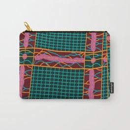 Kente Cloth Design Carry-All Pouch