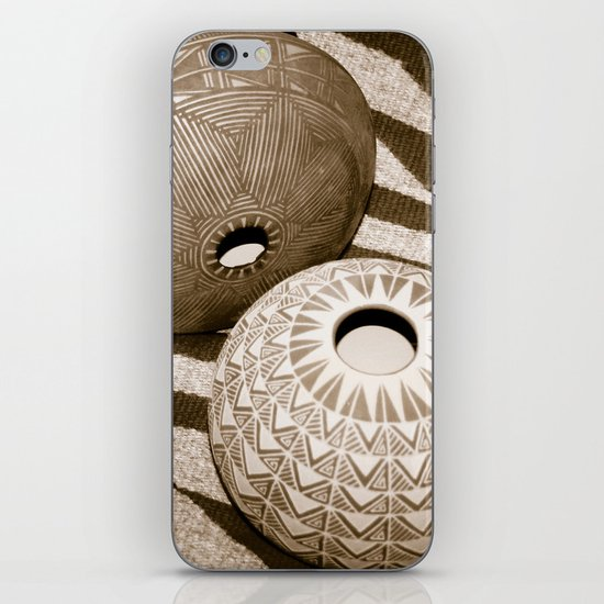 Indian Pottery iPhone & iPod Skin