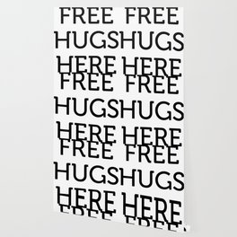Free Hugs Here Wallpaper