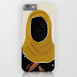 Black Hair No. 13 iPhone Case