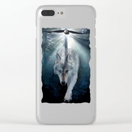The Gathering - Wolf and Eagle Clear iPhone Case