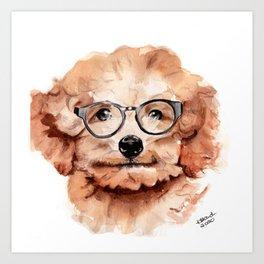 Miniature Sheeran. Art Print