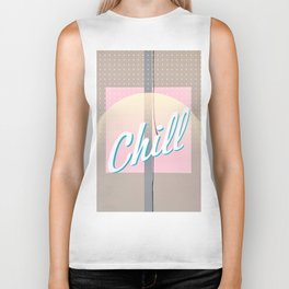 In the Pink - Chill Biker Tank