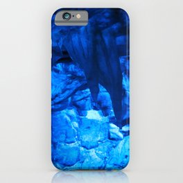 Blue Ice Cave iPhone Case