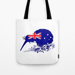 Australian Flag - Kiwi Bird Tote Bag