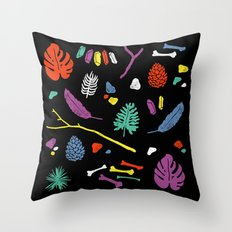 Organisms Throw Pillow