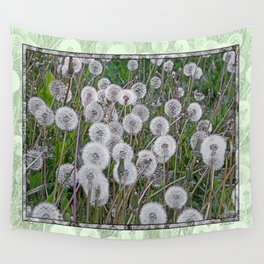 SEEDS OF DANDELION Wall Tapestry