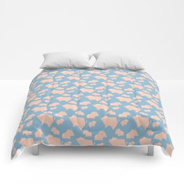 Paper Pigs (Patterns Please Series #3) Comforters