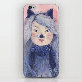 BaeBae Kitty iPhone Skin
