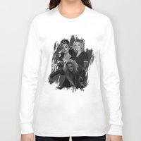 jessica lange Long Sleeve T-shirts featuring The Witches - Susan Sarandon, Jessica Lange and Meryl Streep by BeeJL