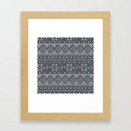 Grand Bazaar - Midnight Framed Art Print