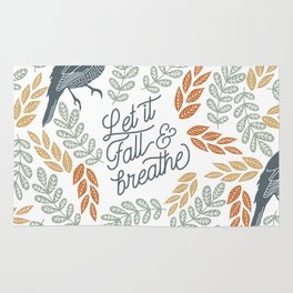 Let Fall and Breathe Rug