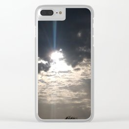 Heavens comes alive Clear iPhone Case