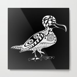 seagull birdy ecopop Metal Print