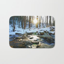 Wintry Light Bath Mat