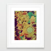 luna Framed Art Prints featuring luna by Laura Moctezuma